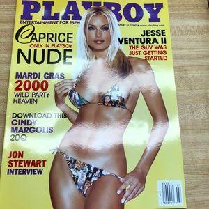 Playboy Magazine March 2000